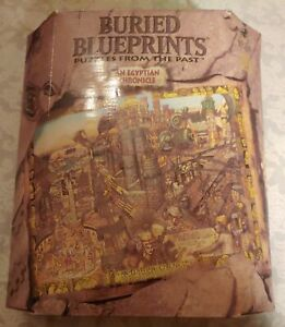 Bepuzzled 1000 Piece Puzzle Buried BluePrints An Egyptian Chronicle New In Box