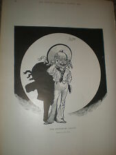 The Pantomime Sailor Phil May old print 1902 ref Z