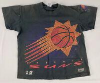 Phoenix Suns Vintage 1993 T-Shirt Black - by anvil - Changes Sports - Size L