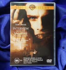 INTERVIEW WITH THE VAMPIRE DVD   Special Edition   Region 4   Brad Pitt