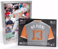 2017 Baltimore Orioles Topps Now Players Weekend 5-Card Team Set - Only 254 Sets
