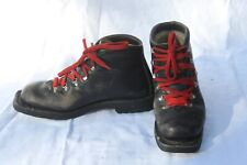 ASOLO Sports Telemark Leather Ski Boots Size US Men's 8.5 Made in Italy XC