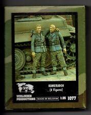 VERLINDEN 1077 - KAMERADEN (2 Figures) - 1/35 RESIN KIT NUOVO
