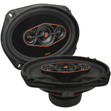 "NEW Cerwin Vega HED 6""X9"" 4-way coaxial speaker set - 440W MAX / 65W RMS H7694"