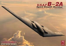 Modelcollect U. S. A. F.B-2A Spirit Stealth Bomber Kit 1:72 Model Set 72201