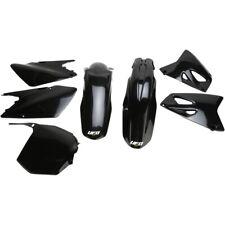 UFO Plastik Kit passt an Suzuki RM 125 250 03-05 schwarz