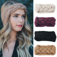 Fashion Women Girl Winter Ear Warmer Headwrap Crochet Headband Knitted Hairb Gn