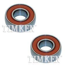 NEW Pair Set Of 2 Rear Timken Wheel Bearings for Hyundai Stellar 1985-1987 RWD