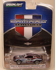 2011 CAMARO SS DAYTONA 500 PACE CAR GREENLIGHT 1:64 SCALE DIECAST METAL CAR
