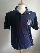Camisa Polo Para Hombre Inglaterra almirante Azul Marino Talla M. Excelente Estado