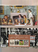 2012 WINDSORS AND SAXE-COBURG-GOTHA PRESENTATION PACK No 466 WITH MINI SHEET