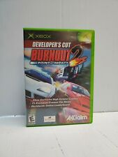 Burnout 2: Point of Impact -- Developer's Cut (Microsoft Xbox, 2003) DISC ONLY