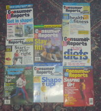 Consumer Reports back issue collection: Focus On Fitness (8 issues)