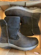 Columbia Men's Bangor Slip Omni-Heat Mid Calf Boot, Black, Graphite, Size 10.5