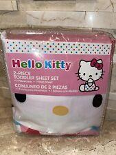 HELLO KITTY 2 PIECE TODDLER SHEET SET