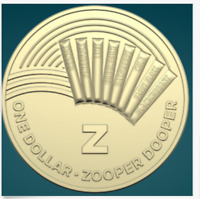 THE GREAT AUSSIE COIN HUNT | 2019 | UNC ONE DOLLAR COIN | 'Z' FOR ZOOPER DOOPER