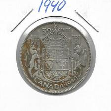 1940 CANADIAN 50 CENT PIECE SILVER (VERY NICE)