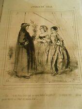 Litho 1846 L'Opéra Un Rameau Vert si c'était un rameau d'Or