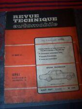 6T - RTA Revue technique Automobile Nø256 Opel KAPITAN ADMIRAL A 2.6l 2.8l