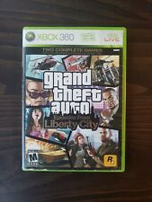 Grand Theft Auto: Episodes From Liberty City (Xbox 360, 2009) Tested Working