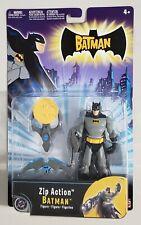 THE BATMAN ZIP ACTION BATMAN FIGURE WITH DISC LAUNCHER AND ZIP ACTION
