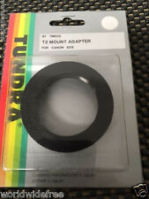 Fits Canon EOS Body to T-Mount 42mm Lens Adapter - Tundra 97TMEOS Japan