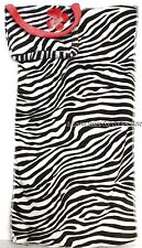 Zebra Print Beach Towel In A Bag Fits 18 in American Girl Doll Clothes Accessory