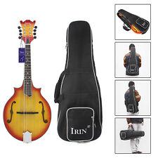 Black Oxford Frabic Carry Bag Carrying Case Holder for Mandolin Backpack