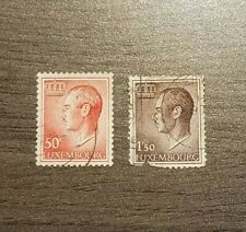 Luxembourg - # LU 419 and 421 - 1965 and 1967 - Grand Duke Jean