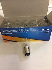 RV Lighting - 12 Volt -  #1076 Bulbs - Box of 10 Bulbs - 32 CP - Push in Bulbs