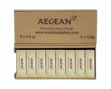 Olive Oil Herbal Soap 4.5 oz (Pack of 8) Vegan, %100 Natural, Sandalwood, Gift