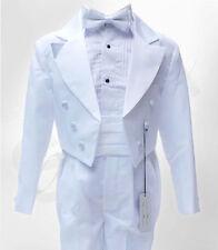 Costumes blancs pour garçon de 2 à 16 ans