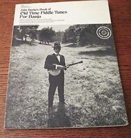 John Burks's Book of Old-Time Fiddle Tunes for Banjo