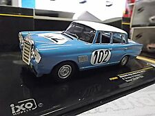 MERCEDES BENZ 300SE W111 Heckflosse Racing 24h Spa 1964 Winner #102  IXO 1:43