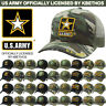 US ARMY Licensed Hat Military Baseball Cap Flag Veteran Seal Army Strong
