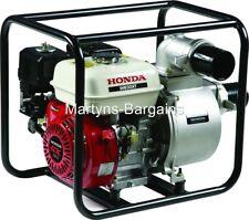 Honda WB30 petrol engine water pump with low oil sensor