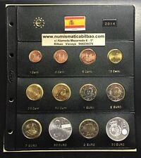ESPAÑA 2014 MONEDAS EURO + HOJA DE PARDO + 2€ GAUDI 2€ CORONACION + 2 x 30 EUROS