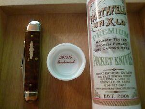 GEC Northfield #23 Great Eastern Cutlery Snakewood Stockyard Whittler Knife NIT