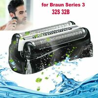 Replacement Shavers Foil Head For Braun 32B 32S Series 3 301S 310S 320S 340S ABS
