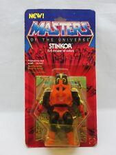 MOTU,VINTAGE,STINKOR,Masters of the Universe,MOC,carded,sealed,figure,He-Man