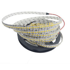 5M 1200 LED 3528 SMD 10mm led Strip Light Warm White 240Led/m Non-Waterproof 12V