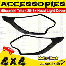 Superior Accessories Head Light Cover Matt Black Mitsubishi L200 2016+ 4WD 4X4