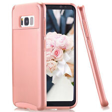 For Samsung Galaxy S8 Case Dual Layer Drop Protection Luxury Tough Rose Gold New