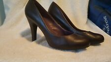 Steve Madden Women's Ulltra Pump Classic Plumb Purple Leather Heels Size 7.5M