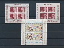 LM83128 Turkey Europa Cept Ataturk sheets MNH