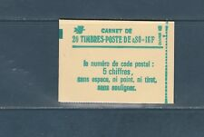 France carnet  de 20 timbres 1970 c1 Sabine  80c vert conf. 6   neuf