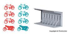 Kibri 38143 - H0 Deko Set Fahrradständer Giocattolo