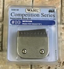 Steel Wahl Competition Series Clipper Blade Pro Quality Dog Grooming Size #10