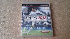 Pro Evolution Soccer 2012 (Sony PlayStation 3, 2011) Brandneu