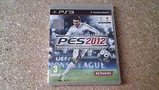 Pro Evolution Soccer 2012 (Sony PlayStation 3, 2011) Brand New